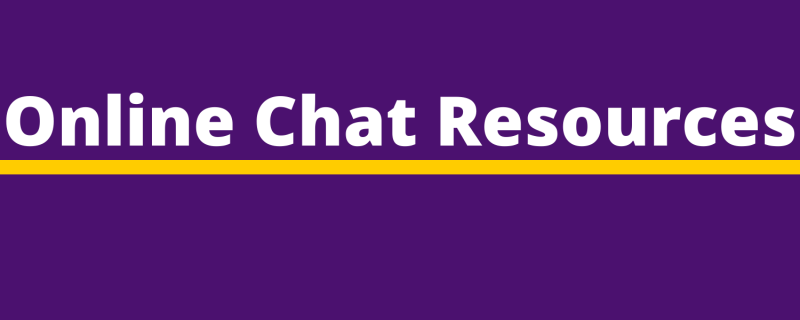 Online Chat Resources