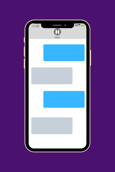 Texting Resources Button